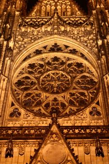 Free St. Vitus Cathedral Detail Royalty Free Stock Images - 7970519