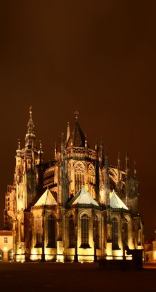 Free St. Vitus Cathedral Royalty Free Stock Photography - 7970557