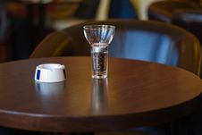 Silent Coffee Bar Stock Images
