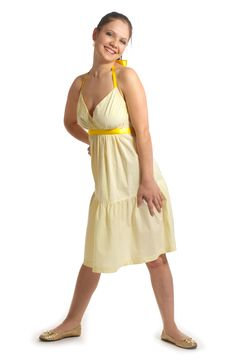 Free Girl In Yellow Dress Stock Images - 7971024