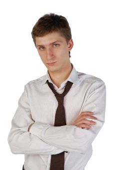 Free Young Man With Crossed Arms Royalty Free Stock Photo - 7971135
