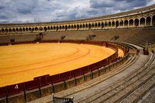Free Bullring Plaza De Toros In Sevilla Stock Photo - 7971160