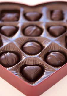 Free Close Shot Of Chocolates Royalty Free Stock Image - 7971766