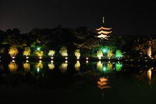 Free Lightup Of Pagoda Stock Photos - 7971983
