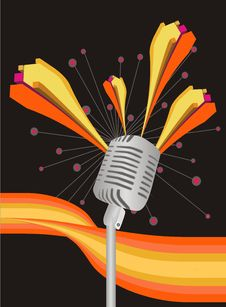 Free Microphone Royalty Free Stock Image - 7972336