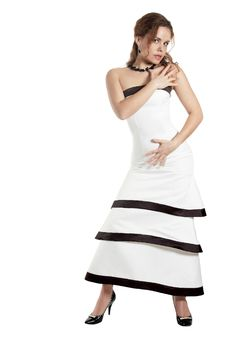 Free Model In An Evening Dress Stock Images - 7972674