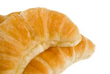 Free Croissant Close Up Royalty Free Stock Photo - 7972815