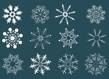 Free Snowflakes Stock Photography - 7973152