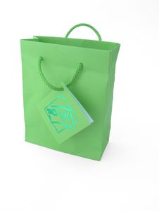 Free Green Packet For Gifts Royalty Free Stock Photo - 7973215