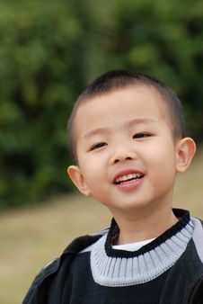 Free Smiling Boy Stock Photography - 7974512