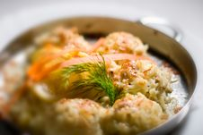 Free Chicken Risotto Royalty Free Stock Photography - 7974927