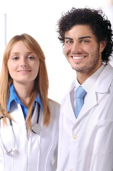 Free Doctor And Stethoscope Stock Photography - 7975112