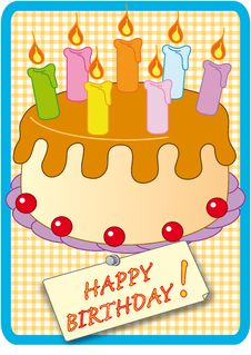 Free Happy Birthday Greetings Royalty Free Stock Images - 7975249
