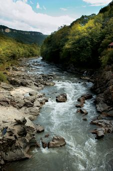 Free River In Mountains Royalty Free Stock Photography - 7975297