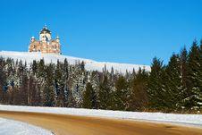 Belogorsky Piously-Nikolaev Monastery Stock Image