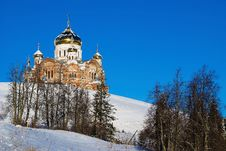 Belogorsky Piously-Nikolaev Monastery Royalty Free Stock Photo