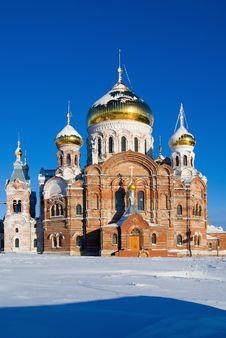 Belogorsky Piously-Nikolaev Monastery Royalty Free Stock Photos