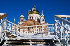 Belogorsky Piously-Nikolaev Monastery Royalty Free Stock Photography