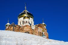 Belogorsky Piously-Nikolaev Monastery Royalty Free Stock Photography