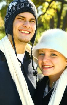 Free Portrait Of Happy Caucasian Couple Royalty Free Stock Photo - 7976015