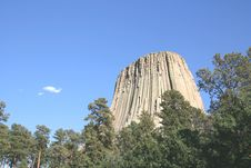 Free Devils Tower National Monument, Wyoming Stock Image - 7976081