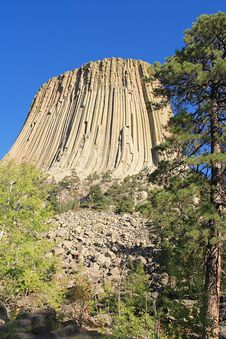 Free Devils Tower National Monument, Wyoming Stock Image - 7976331