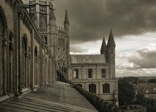 Free View From The Tower Of Ely Cathedral Royalty Free Stock Images - 7976699