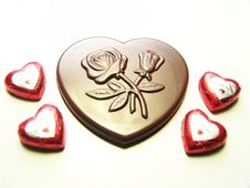 Free Heart Chocolate Stock Photo - 7977110
