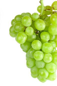 Free Green Grapes Closeup Stock Photo - 7977150