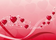 Free Abstract Hearts Stock Images - 7977264