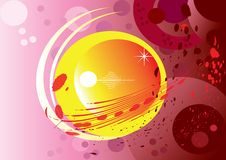 Free Shapes And Colors Background Royalty Free Stock Photos - 7977338