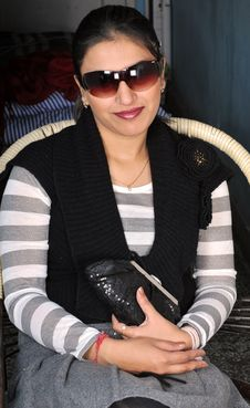 Free Female Indian Model Royalty Free Stock Image - 7977416