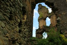 Free Colt Fortress Ruins Stock Photo - 7977470