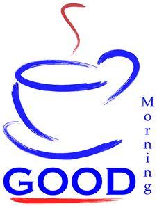 Free Good Morning Logo Royalty Free Stock Photo - 7977545
