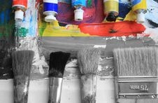 Free Painting. Royalty Free Stock Image - 7978146