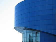 Free Blue Building Royalty Free Stock Photo - 7978475