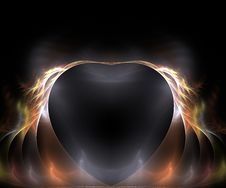 Free Flaming Heart Stock Photography - 7978622