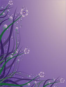 Free Violet Floral Background Royalty Free Stock Photos - 7978738