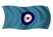 Royal Air Force Station Commanders Ensign Royalty Free Stock Photos