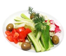 Free Fresh Vegetables Royalty Free Stock Photos - 7979598