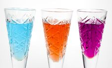Free Three Wineglass Royalty Free Stock Images - 7979759