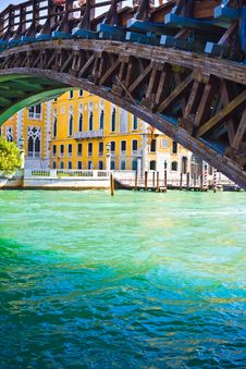 Free Academia Bridge In Venice Royalty Free Stock Photo - 7979775