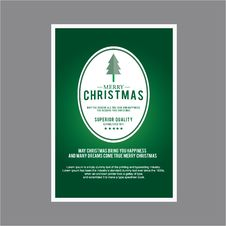 Christmas For Card Set Theme Royalty Free Stock Images