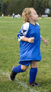 Free Soccer Player Running Royalty Free Stock Photos - 7984078
