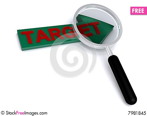 Free Target Royalty Free Stock Photo - 7981845