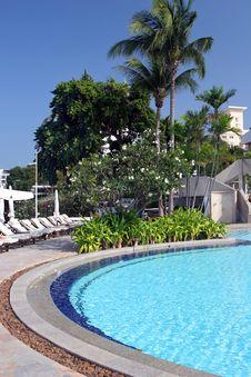 Tropical Hotel Stock Photo