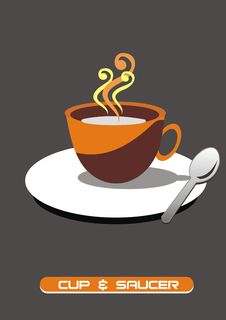 Free Cup And Saucer Royalty Free Stock Images - 7980159