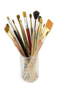 Free Paintbrushes Royalty Free Stock Photo - 7980445