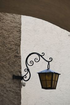 Free Lantern On Facade No.1 Stock Photography - 7982232