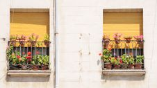 Free Spanish Facades No.4 Stock Image - 7982321